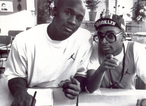 MJ and Spike Lee
