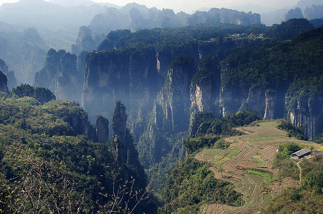 Zhangjiajie China 張家界 空中花園 by hk_traveller on Flickr.