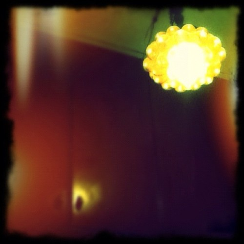 nitey nite… #retro #70 #design #light (Taken with instagram)