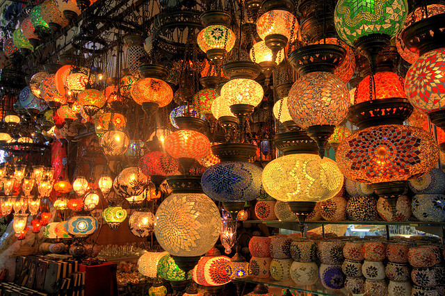Istanbul Grand Bazaar by samirdiwan on Flickr.
