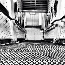 #blackandwhite Friday. #stairs #cameraplus #ansel #bw #london  (Taken with Instagram at Paddington Underground Station)