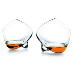 envicta:  Stemless cognac glasses ~great design