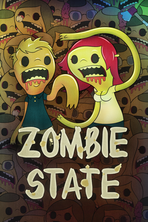 Splash screen for Zombie State App