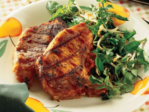 Orange-Spiced Pork Chops Get the recipe!