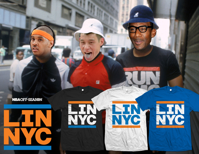 Who's house? Lin's house. LIN-NYC tees are now up on our store! BUY THEM HERE