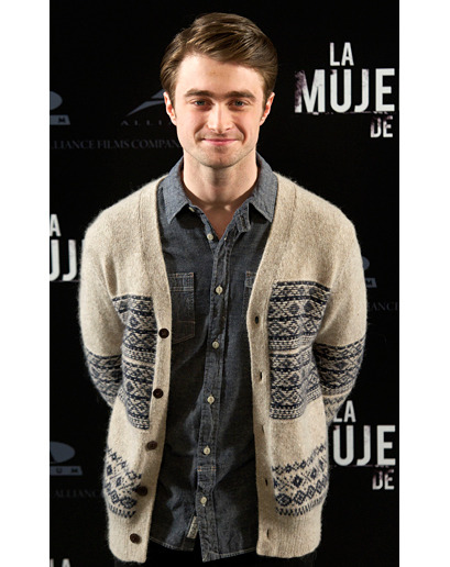 """Daniel Radcliffe in Madrid. This pose is very 'I'm about to meet my girlfriend's mother.' Just going by the outfit, she's gonna love him."" Brought to you by The Week in Style."