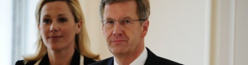 German president resigns amid political favors scandal: Christian Wulff, shown with his wife Bettina, had to resign amid allegations of offering political favors while the premier of Lower Saxony. He faced calls for his resignation for weeks, and may not have legal immunity for any crimes committed. source Follow ShortFormBlog