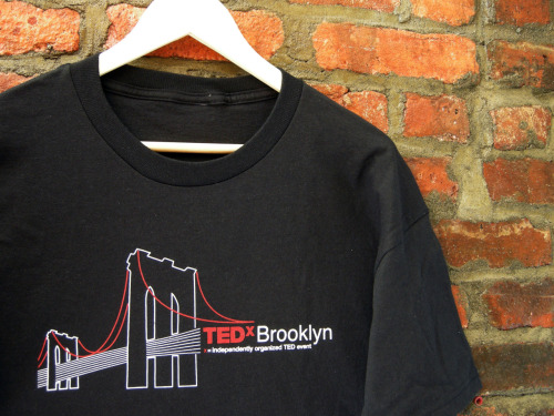 designworthspreading:  TEDxBrooklyn  I want that shirt…