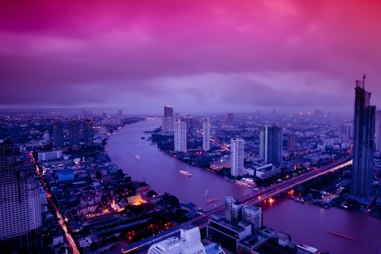 The mind is everything. What you think you become. - Vibrant Bangkok