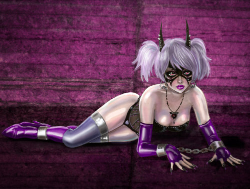 Lilith Imprisoned by *kharis-art  I love to see how people interpret Lilith…