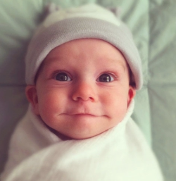 cutest baby in the whole world. other arguments are invalid.