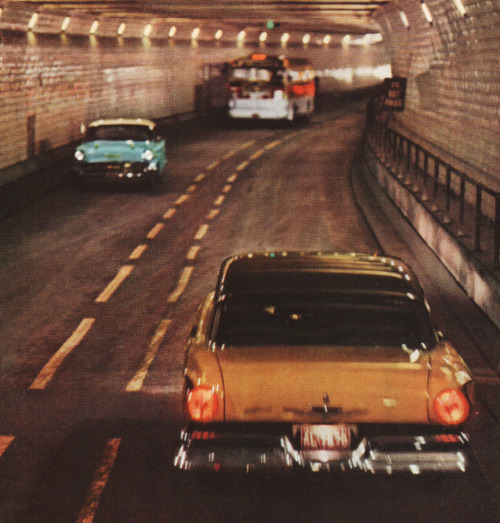 rogerwilkerson:  Detroit Windsor Tunnel - 1959