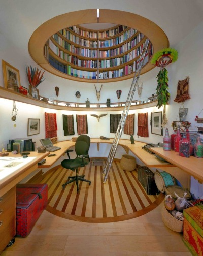 oliphillips:  Awesome Writing Room by Travis Price Architects