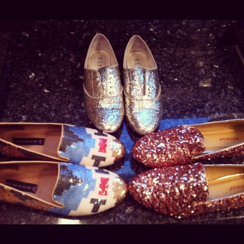 Ok so I'm clearly on a sequin/glitter shoe kick (Taken with instagram)