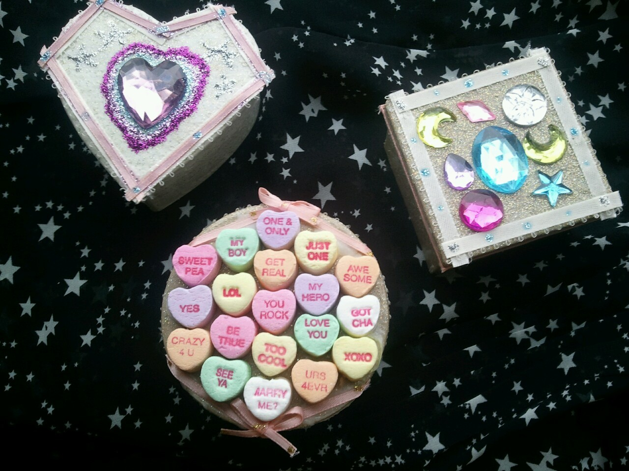 sum boxes i decorated<3