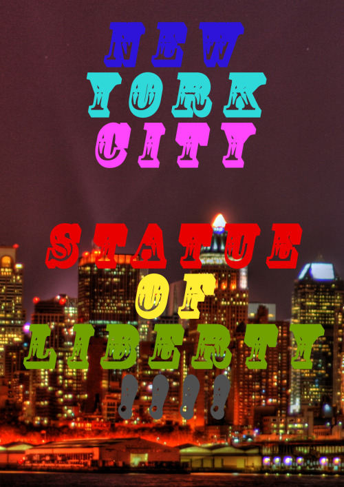 I am a big fan on the new york styled art work so i gave it a go. Hope you like it if you do you can follow me.  Thanks AceJakeyBoy :)