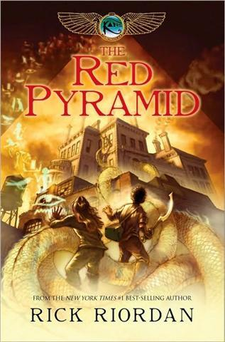 The Throne of Fire  by Rick Riordan   After reading The Red Pyramid, I could hardly wait for the next book in The Kane Chronicles series to take me on even more thrilling adventures than before. And I wasn't just not disappointed, I was completely blown away. The stakes are infinitely higher, the enemies are more malicious, and the battles are simply electrifying. Our heros, Carter and Sadie, have grown so much since The Red Pyramid; they're more mature and clever this time around and they've got to be in they want to defeat Apophis, the god of chaos. The best part of reading this, now that we're all in on the secrets of the Kane family, is that the pacing is much faster without explaining the complicated, yet fascinating, backstory. Riordan gets right to the point with stunning accuracy that only he can deliver. I've already pre-ordered the final installment, The Serpent's Shadow, and I cannot wait to be on the edge of my seat once more.   -Melissa