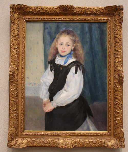 Pierre-Auguste Renoir. Portrait of Mademoiselle Legrand. 1875. Oil on canvas. Philadelphia Museum of Art, European Painting before 1900, Johnson Collection.