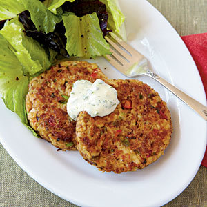 "Salmon Croquettes [they're ""Salmon Patties"" in our home] … Easy to prepare, fast to Prepare … and delish = perfect!"