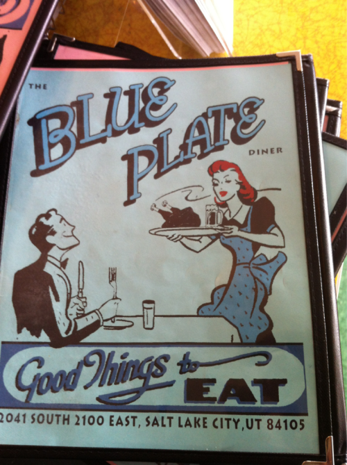 Blue Plate Diner in Salt Lake City is one of the best places you can eat. Fresh food. Great service. They will make substitutions for almost anything and have a great selection.