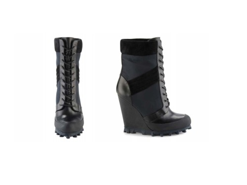 aldorise:  ALDO RISE x Patrik Ervell AW12 women's lace-up tread sole boots