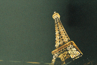 Eiffel Tower a la Vegas by Harley Haskett on Flickr.