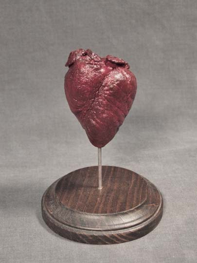 attack-of-the-wolf-king:  shopoddities:  Preserved Fawn Heart $125.00  Wish I knew how to preserve organs (other than wet specimens)