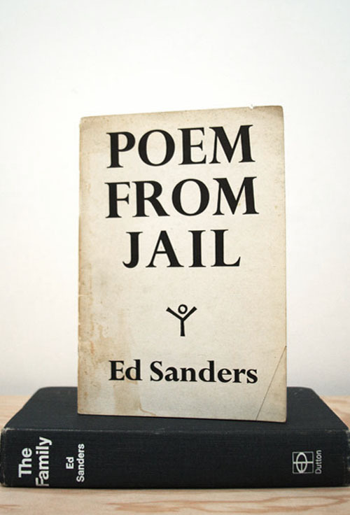 "Ed Sanders, Poem From Jail""And we have demanded that they ban the bomb, mouth of death convulsing upon the earth""City Lights Books, San Francisco, CA, 19635.5 x 8 INCHES (14 x 20.3 CM)$30 PURCHASE"