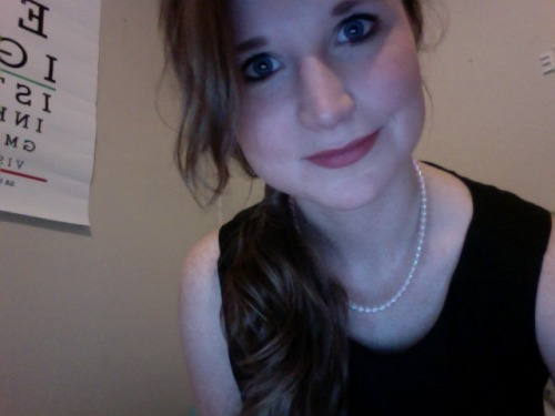 birthdaaaaay! I'm kind of a huge Audrey Hepburn fan so I'm wearing my lbd tonight.