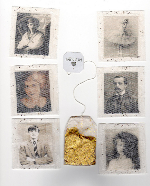dusty-attic:  teabags by deer things on Flickr.