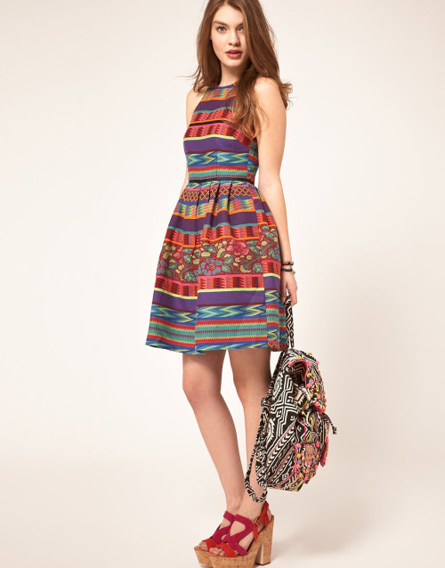 theclotheshorse:  asos skater dress