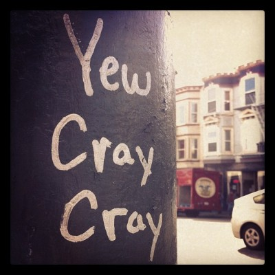 Wise words in the Castro (Taken with instagram)