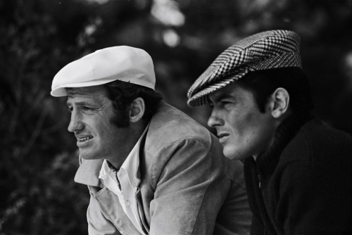 theimpossiblecool:  Belmondo & Delon.