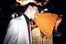 Mau5 likes the cheese lol