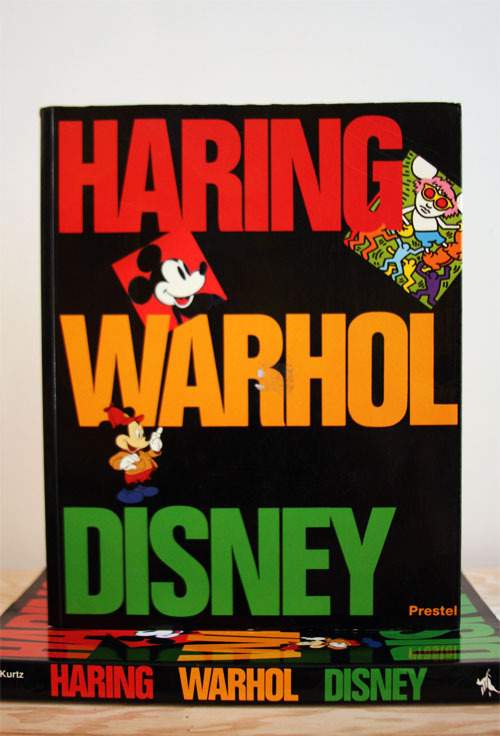 "Bruce D. Kurtz, Haring Warhol Disney""Gouach pigments opaque the figures ""Prestel, Munich, Germany, 19929.5 X 11.75 (24.2 X 29.8 CM)$25 PURCHASE"