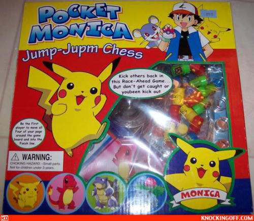 ruinedchildhood:  Remember the time pikachu changed his name to Monica?