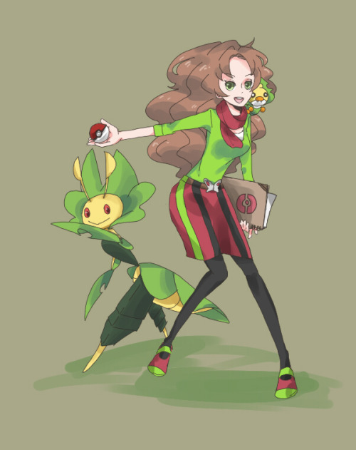 pkmndrugs:  慶冬 Yes, Arti would have looked better as a female gym leader xD