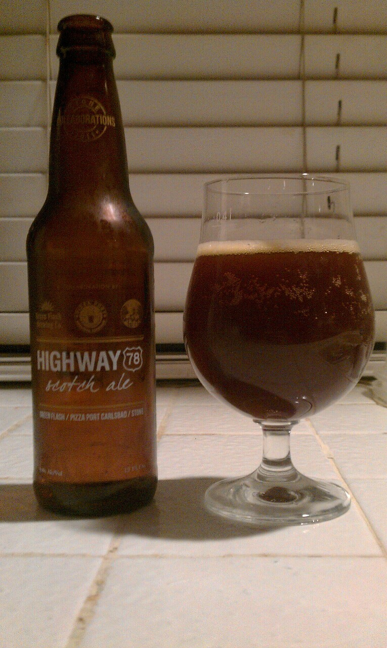 Green Flash x Pizza Port x Stone - Highway 78 Scotch Ale (Scotch Ale, 8.80% ABV)