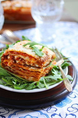 prettygirlfoodrecipes:  Baked Lasagna  Read More
