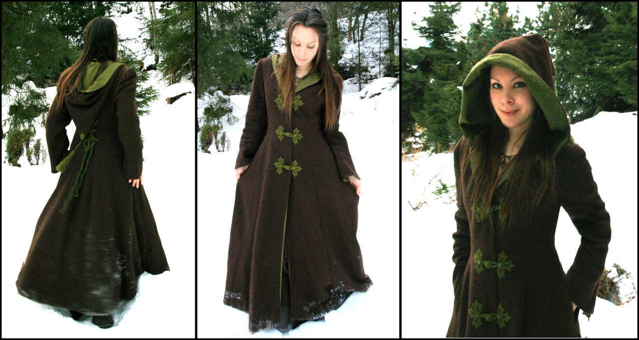 Fantasy Forest Winter Coat by ~Navanna
