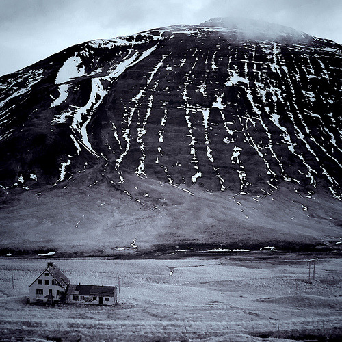 alfsaga:  Sieuw Grégoireer Lonely old farm lost in Icelandic Highlands not far from Egilsstaðir, in november 2011, during my Icelandic tour.