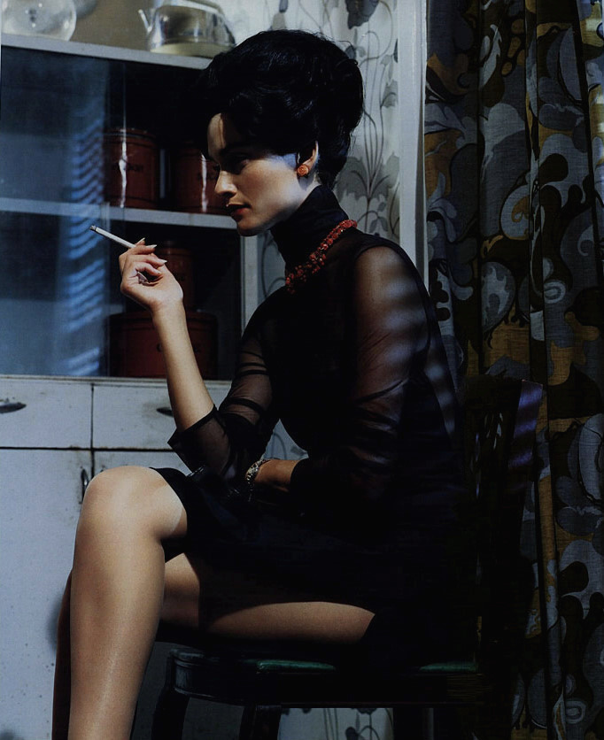 """Sobriety of Style"" by Steven Meisel"