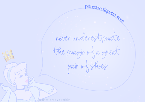 Never underestimate the magic of a great pair of shoes. :)