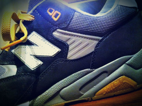 New Balance x Burn Rubber;