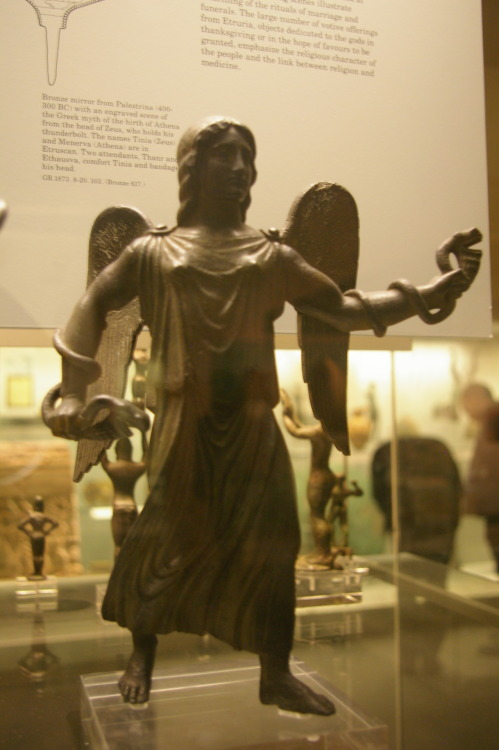 Bronze statue of Vanth, British Museum