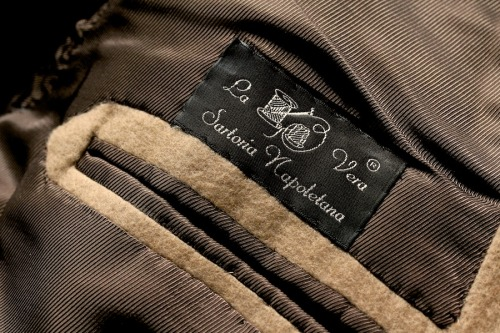 ethandesu:  Old label Orazio Luciano Su Misura at The Armoury