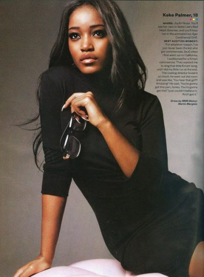 ‎Keke Palmer for Ebony Magazine [March 2012]