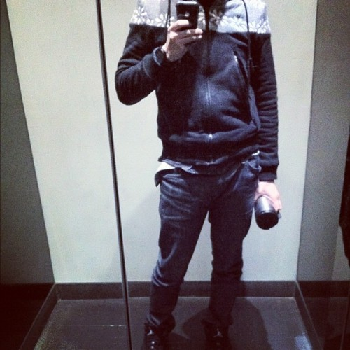 All black #style #lookbook #jordans (Taken with instagram)