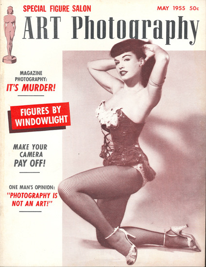 Bettie Page for Art Photography, 1955
