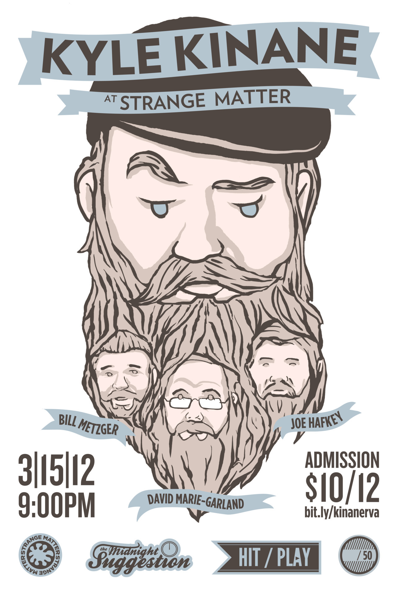 Booked & Promoted Kyle Kinane - Richmond, VA - 3/15/12